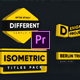 Modern Isometric Titles - VideoHive Item for Sale