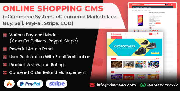 Codecanyon | Online Shopping CMS (eCommerce System,  eCommerce Marketplace, Buy, Sell, PayPal, Stripe, COD) Free Download #1 free download Codecanyon | Online Shopping CMS (eCommerce System,  eCommerce Marketplace, Buy, Sell, PayPal, Stripe, COD) Free Download #1 nulled Codecanyon | Online Shopping CMS (eCommerce System,  eCommerce Marketplace, Buy, Sell, PayPal, Stripe, COD) Free Download #1