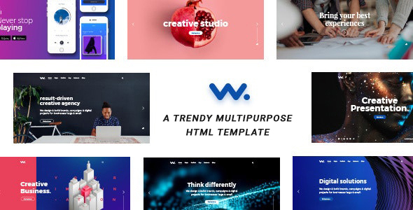 Wilson – Creative Agency HTML Template
