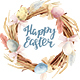 Happy Easter Watercolor Clipart - GraphicRiver Item for Sale