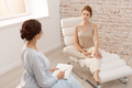 Psychologist having session with her patient in office - PhotoDune Item for Sale