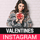 Valentines Instagram Story and Banner Templates - GraphicRiver Item for Sale