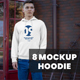 8 Mockups Hoodie on the Men on the Street - GraphicRiver Item for Sale