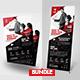 Conference Flyer & Roll-Up Banner Bundle - GraphicRiver Item for Sale