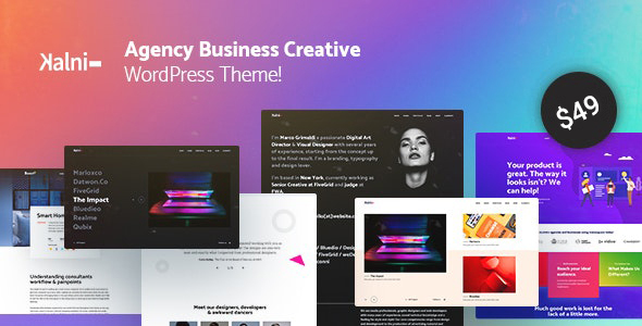 Kalni - Agency Business Creative WordPress Theme