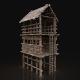 Next Gen AAA Forest Wooden Watchtower - 3DOcean Item for Sale