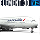 Airbus A380 - Air France - 3DOcean Item for Sale