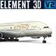 Airbus A-380 Etihad - 3DOcean Item for Sale