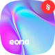 Eona - Neon Holographic Background Set - GraphicRiver Item for Sale