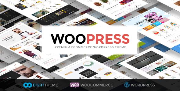 WooPress - Responsive Ecommerce WordPress Theme