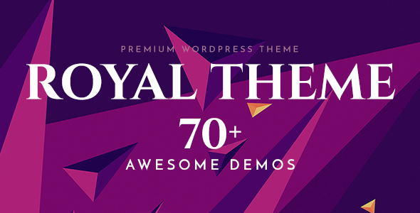 Royal - Multi-Purpose WordPress Theme - Wordpress Themes & Templates - Hire Wordpress Freelancers from FreelancerCV.com