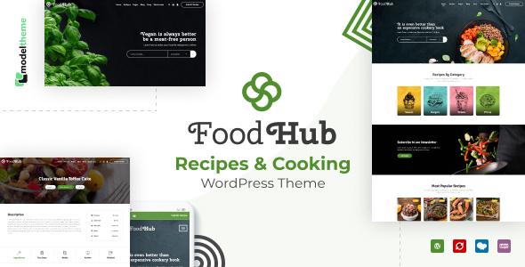 Foodhub - Recipes WordPress Theme
