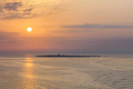 sunrise at sea. United Arab Emirates - PhotoDune Item for Sale
