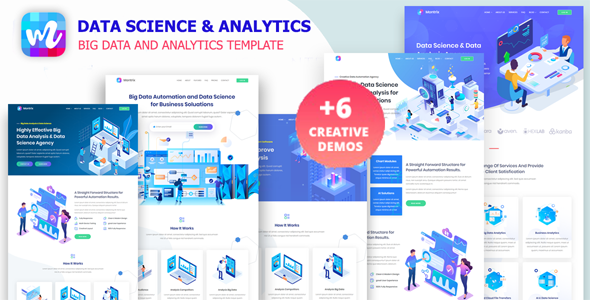 Montrix - Data Science & Analytics Template