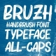 Bruzh - Handbrush Font - GraphicRiver Item for Sale