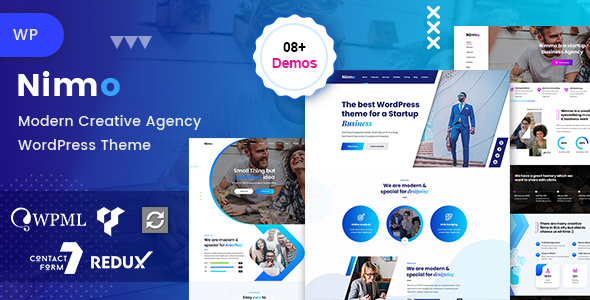 Nimmo - One page WordPress