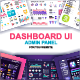 Dashboard UI Admin Panel Template - GraphicRiver Item for Sale