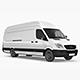 Long Cargo Van Mock-Up - GraphicRiver Item for Sale