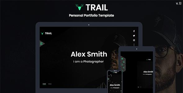 Trail - Personal Portfolio Template