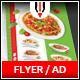 Italian Restaurant Flyer / Magazine AD - GraphicRiver Item for Sale