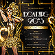 The Roaring 20's Retro Costume Party Flyer - GraphicRiver Item for Sale