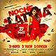Noche Latina Party Flyer - GraphicRiver Item for Sale