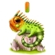 Funny Hand-drawn Iguana on a White Background - GraphicRiver Item for Sale