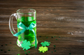 St. Patricks day set with pint of green beer - PhotoDune Item for Sale