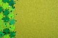 Flat lay Happy St. Patrick's background mockup - PhotoDune Item for Sale