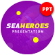 Sea Heroes Presentation Template - GraphicRiver Item for Sale
