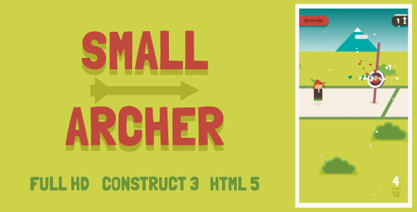 Small Archer - HTML5 Game (Construct3) Download