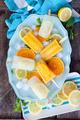 Fruity frozen popsicles - PhotoDune Item for Sale