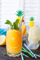 Fruity cocktail with fresh orange - PhotoDune Item for Sale