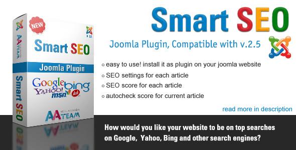 Smart SEO - Joomla Plugin