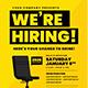Job Vacancy Flyer - GraphicRiver Item for Sale