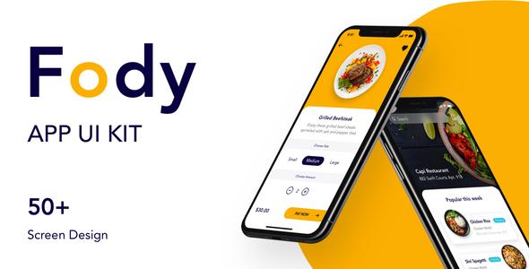 Fody - Best Food Order Mobile App 1