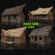 AAA Next Gen Cottage and Huts Pack Builder Collection - 3DOcean Item for Sale