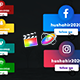 Social Media Unique Lowerthirds - VideoHive Item for Sale