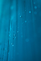 water drops on blue plastic foil abstract - PhotoDune Item for Sale