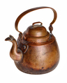 Aged antique copper kettle - PhotoDune Item for Sale