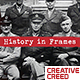 Brush History Slideshow / Retro Vintage Opener / Old Memories Photo Album / World War - VideoHive Item for Sale