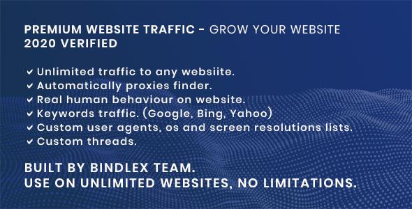 Premium Website Traffic 2.0 | Gain visitors for your website
