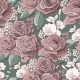 Seamless Pattern with Pink Roses - GraphicRiver Item for Sale