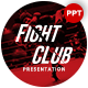 Fight Club Sports Presentation Template - GraphicRiver Item for Sale