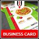 Italian Restaurant Business Card - GraphicRiver Item for Sale