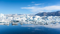 view of icebergs in glacier lagoon, Iceland - PhotoDune Item for Sale