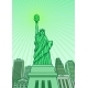Statue of Liberty with the Dollar Symbol - GraphicRiver Item for Sale