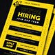 We Are Hiring Flyer - GraphicRiver Item for Sale