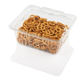 crackers in a transparent plastic container - PhotoDune Item for Sale
