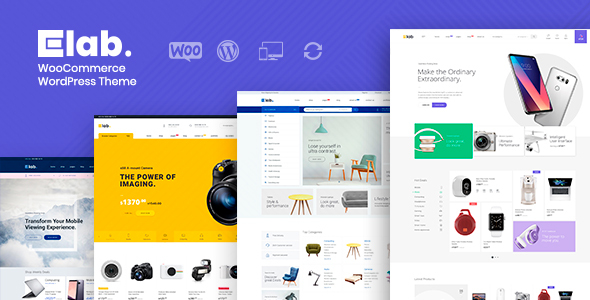 eLab - Multi Vendor Marketplace WordPress Theme